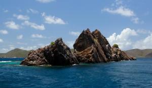 Indians Norman Island BVI