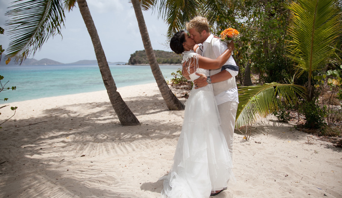 Wedding Smugglers Cove Tortola British Virgin Islands