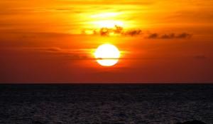 Caribbean sunsets never get old