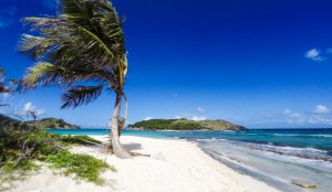 Sandy Spit and Green Cay in the British Virgin Islands