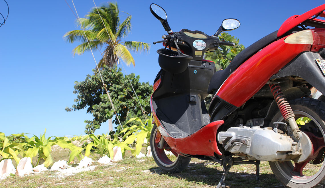 Scooter Rental Anegada BVI