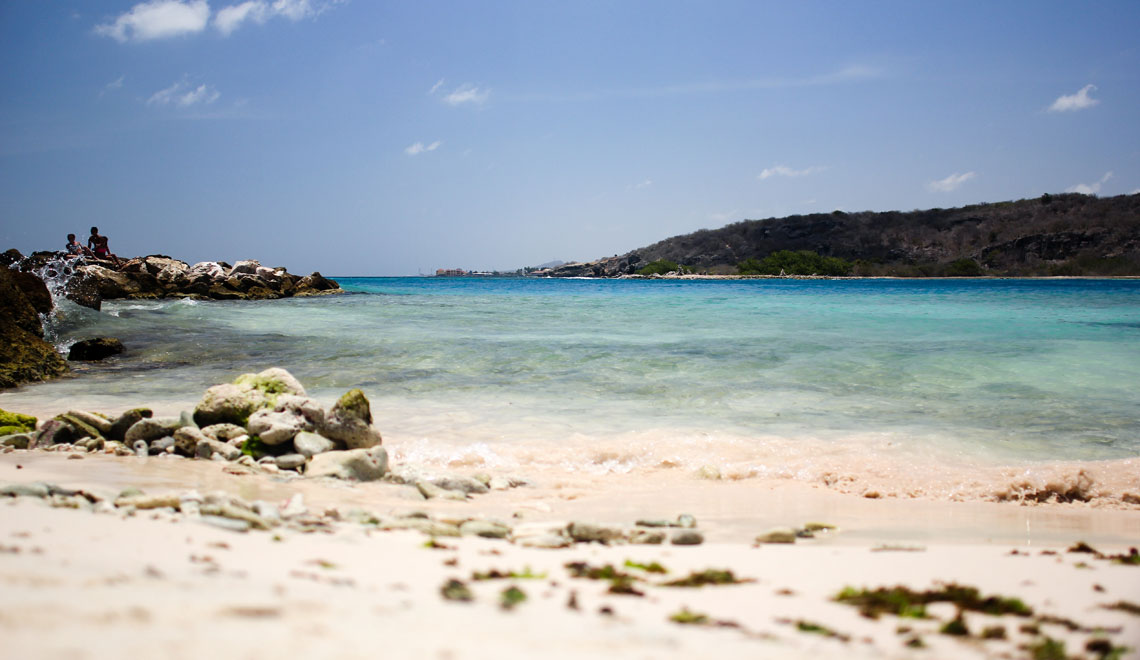 Go to the beach in Curacao in the weekends