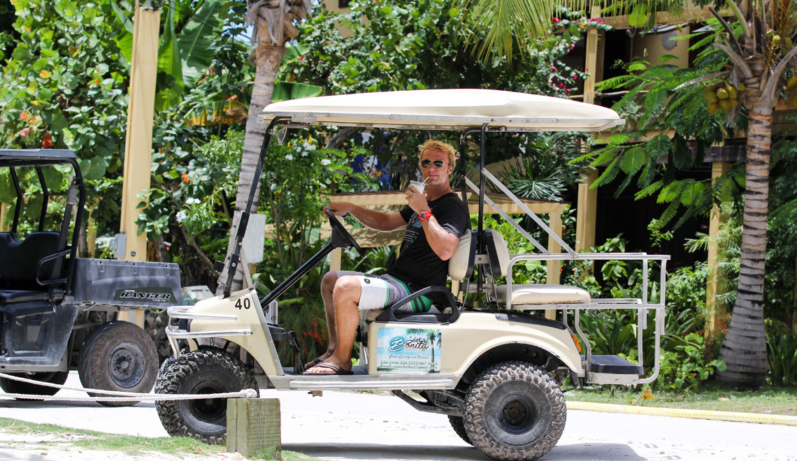 golf-cart-ambergris-caye-belize