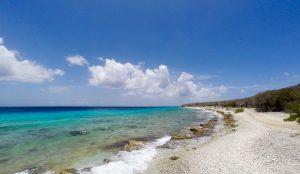 Beach hopping Curacao