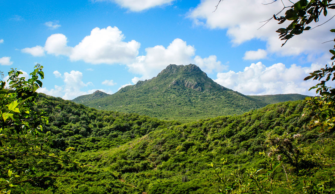 Climb the Christoffel mountain in Curacao