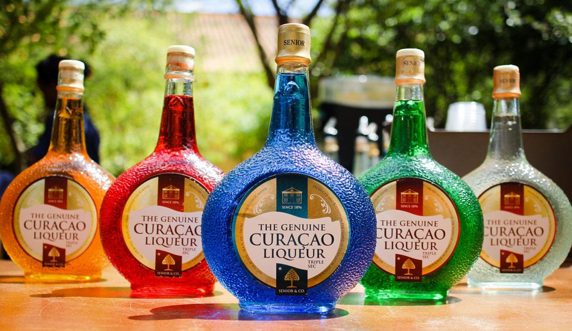 Blue Curacao Liqueur Distillery