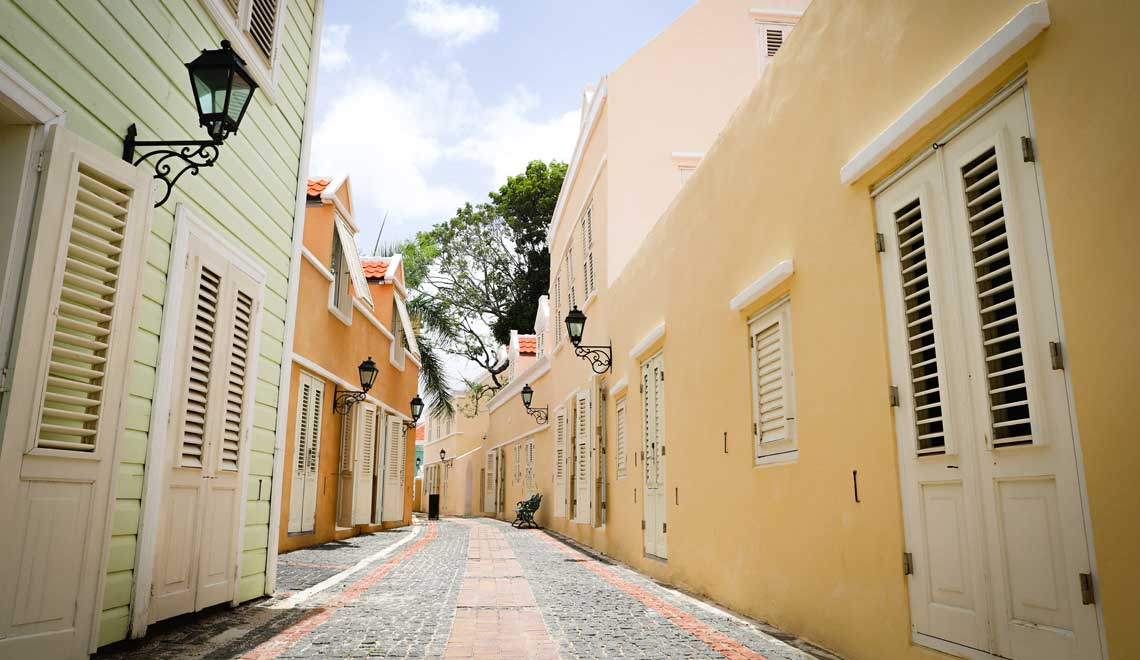 Walk through Historic Willemstad Kura Hulanda