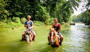 Horseback riding in Cabarete Dominican Republic