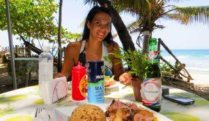 Lunch Playa Encuentro cabarete