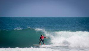 Surfing Playa Encuentro in Cabarete Dominican Republic
