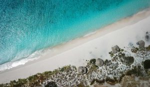 Klein Curacao drone photo