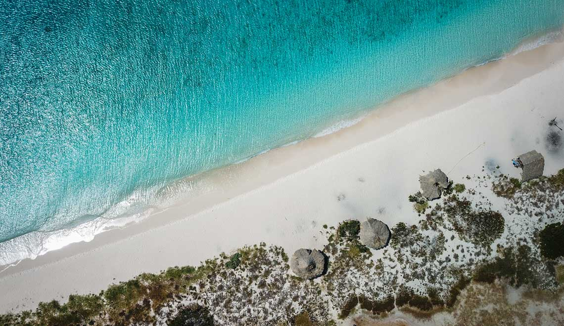 Klein Curacao drone photo