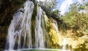 Cascada Limon Waterfall in Samana