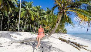 Playa Fronton is a postcard perfect beach