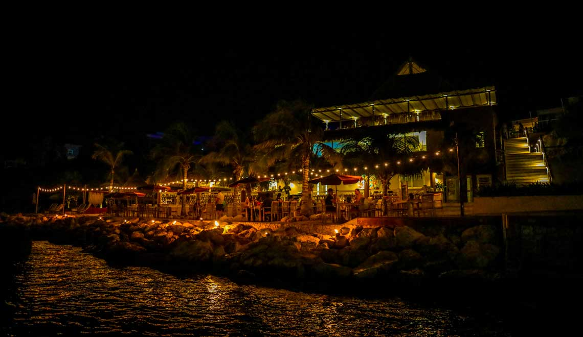 Dining at Coral Estate Curacao
