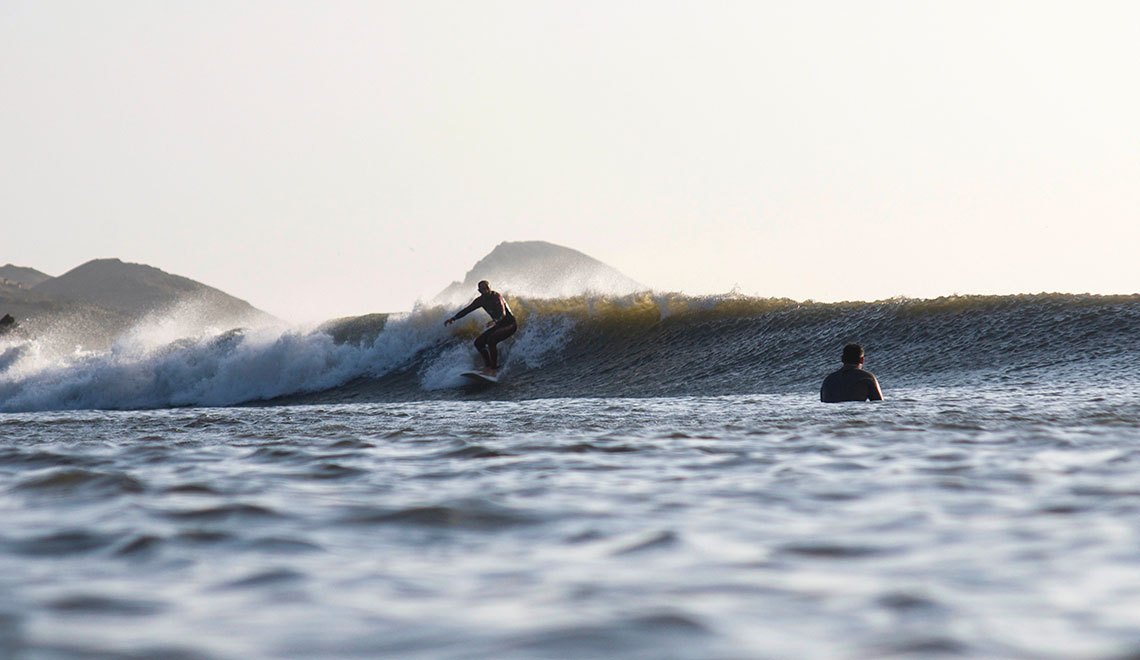 Chicama surf perfection in Northern Peru