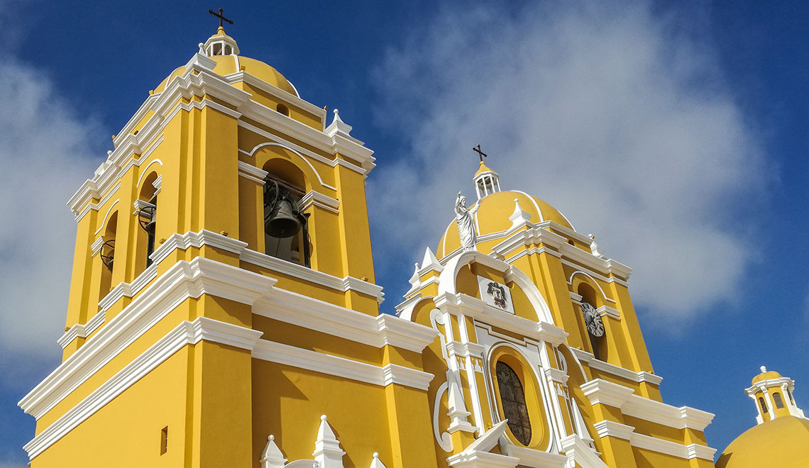 Historic Center of Trujillo in Northern Peru