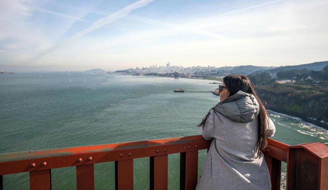 Walk the Golden State Bridge