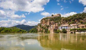 Miravet village in Tarragona