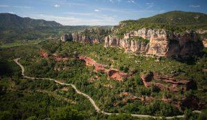 Siurana view in Tarragona