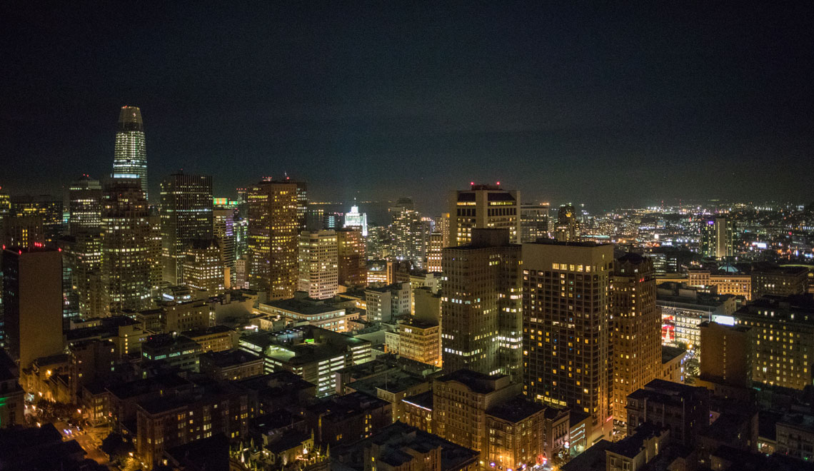 Top of the Mark San Francisco rooftop drinks