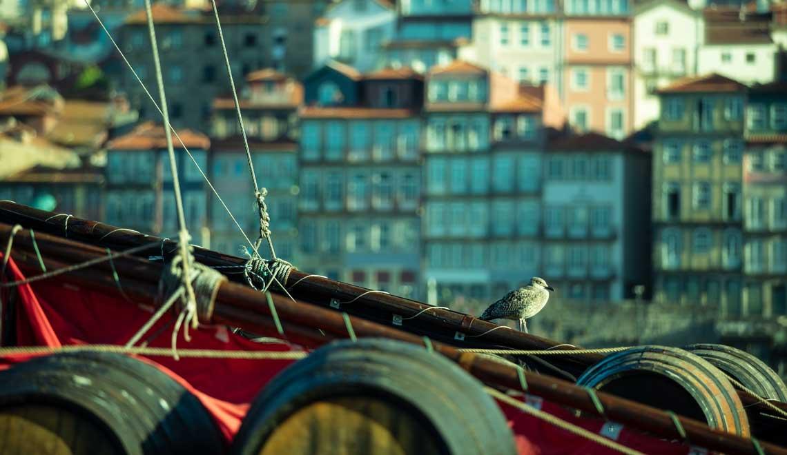 Dawn in Porto