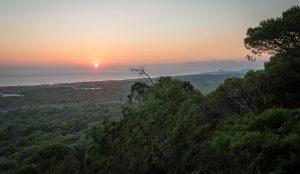 Sunset in Costa da Caparica