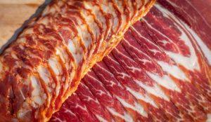 Presunto or ham of the Porco Preto