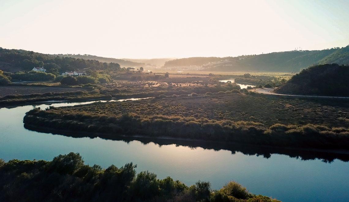 River in Odeceixe, West Algarve