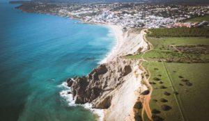 Praia da Luz in the Algarve