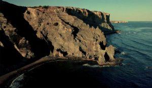 Rocha Negra cliff coast in the Algarve